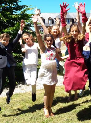 Stage théâtre enfants 8-12 ans Manoir des Loges en Mayenne